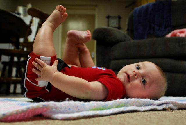 Hudson on the Floor