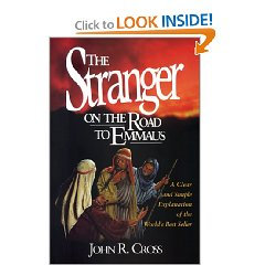 The Stranger on the Road to Emmaus by John Cross