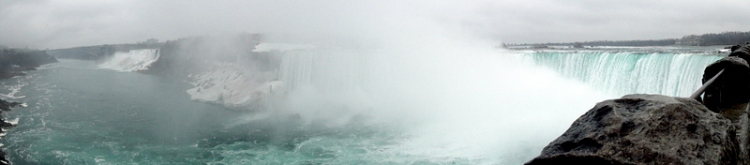 Niagara Falls view from Canada
